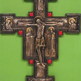 """#079 Krzyż Giotta """"postarzany"""""""
