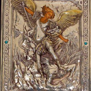 #085 Archanioł Michał ( malowane dłonie i twarz )