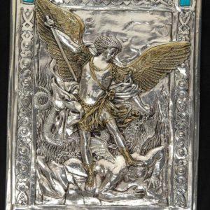 #104M Archanioł Michał - metalowy