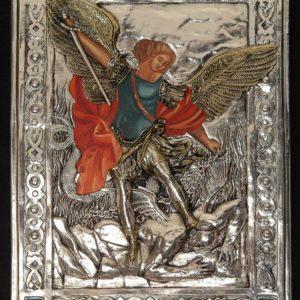 #104P Archanioł Michał - malowany