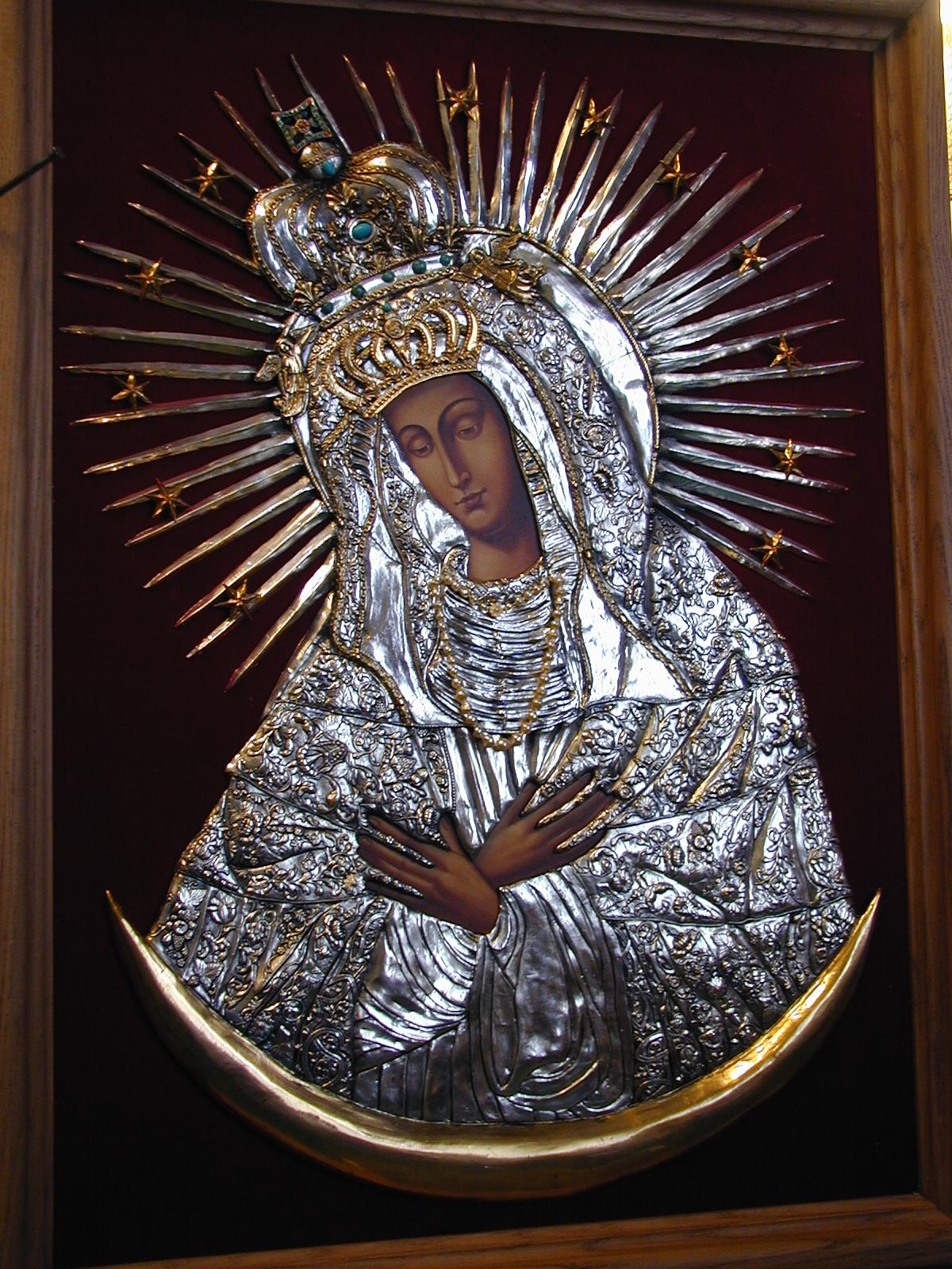 #055S Matka Boża Ostrobramska