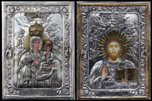 Pantokrator i Madonna z Supraśla